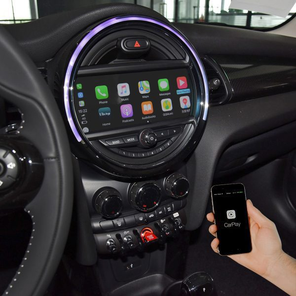 CarPlay Full Screen Mini Cooper