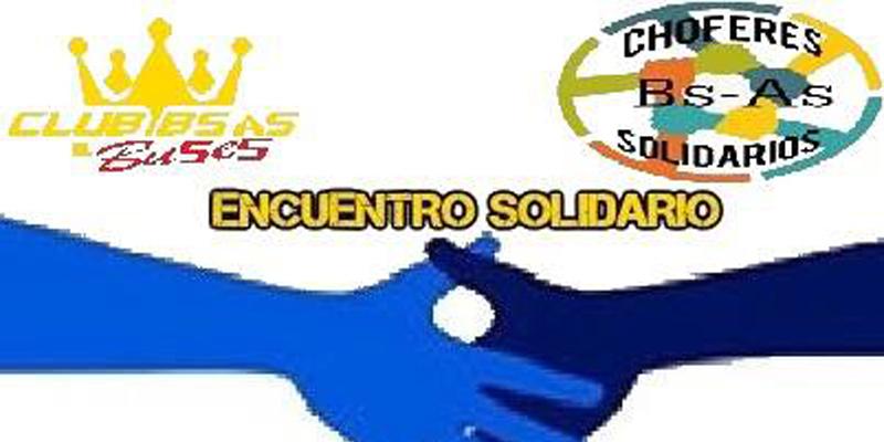 Encuentro solidario de Club Bs. As. Buses y Chóferes Solidarios Bs. As.