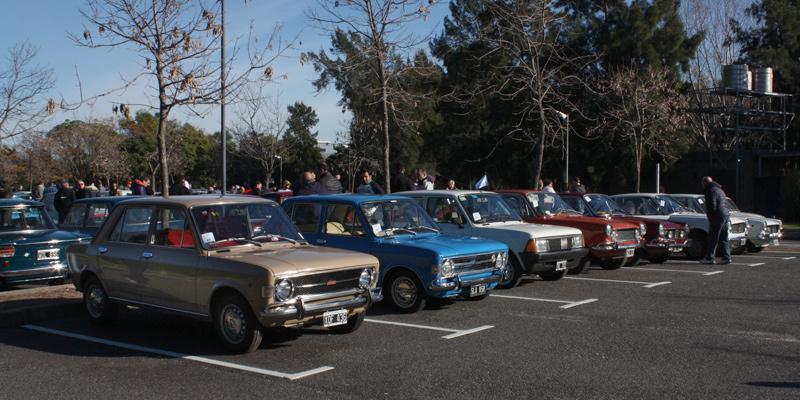 Festejos por los 100 años de Fiat en Argentina