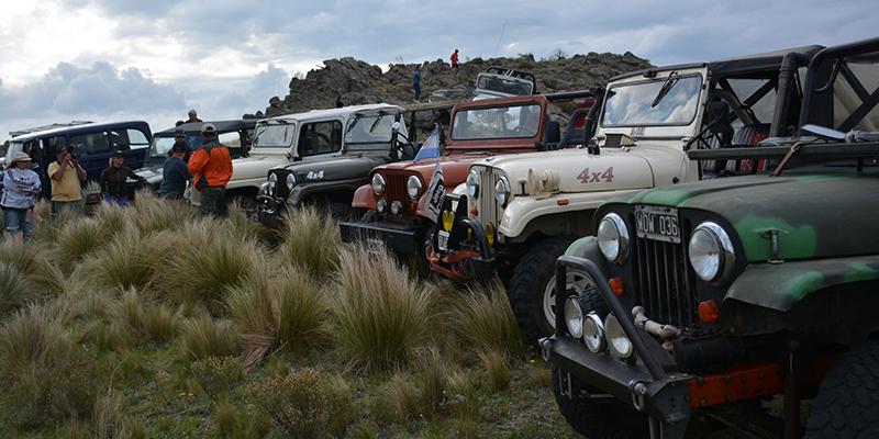 5to Encuentro de la Agrupación Fanáticos del Jeep IKA