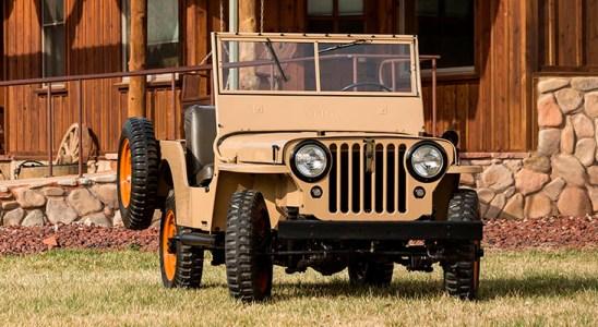 El primer Jeep civil cumple 75 años