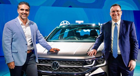 Volkswagen presentó el Taos