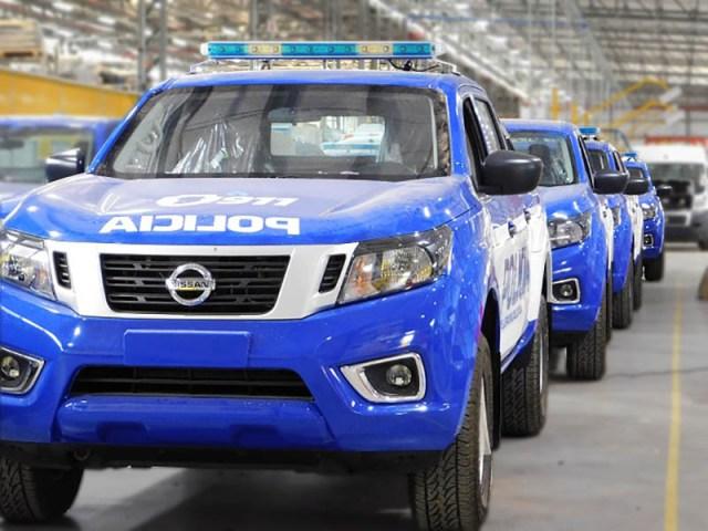 Policía de Córdoba adquirió recientemente 45 unidades Nissan Frontier