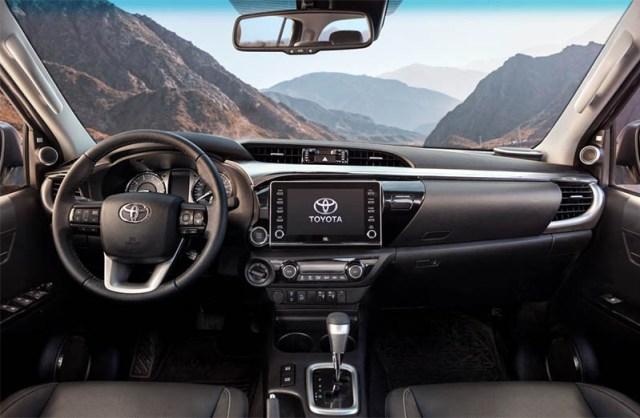 Toyota actualizó la Hilux