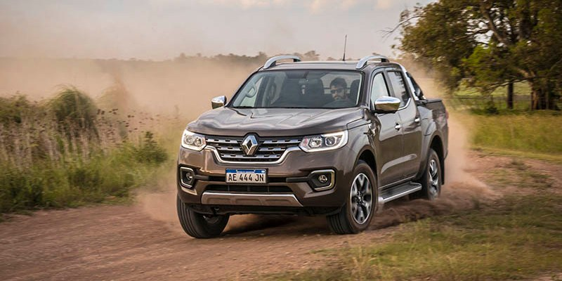 Renault presentó la pick up Alaskan