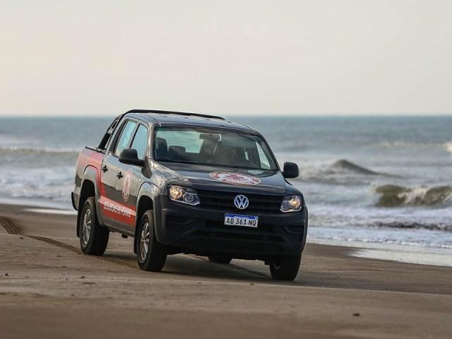 Amarok, vehiculo oficial de las playas