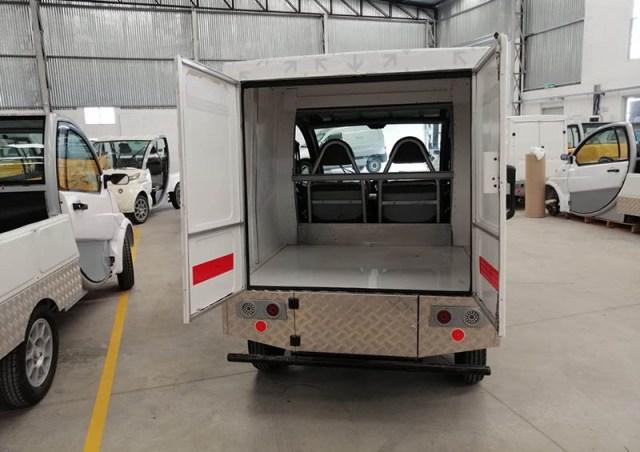 Sero Electric homologó sus vehículos de carga.