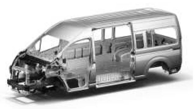 Toyota presentó las nuevas Hiace de pasajeros