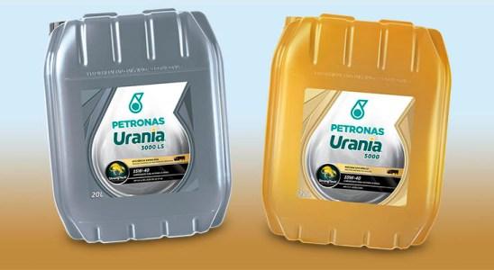 Nuevos lubricantes PETRONAS Urania para servicio pesado
