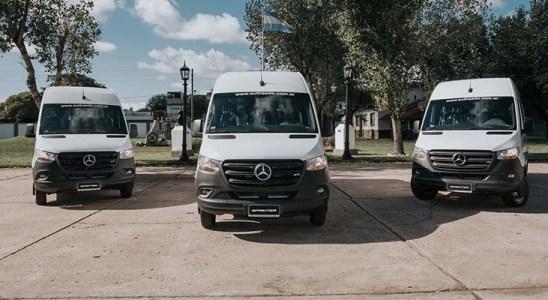 Mercedes-Benz Sprinter para el Ejército Argentino.