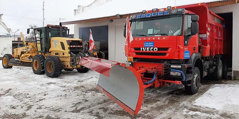 Operativo de invierno a bordo de camiones IVECO.