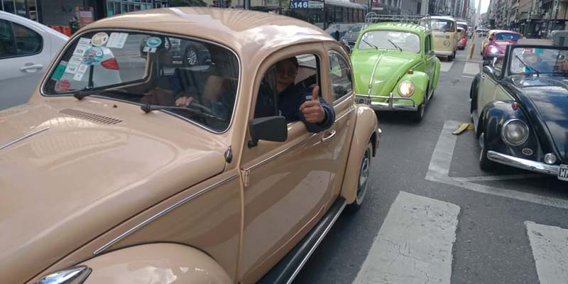 Los Escarabajos festejaron por Buenos Aires