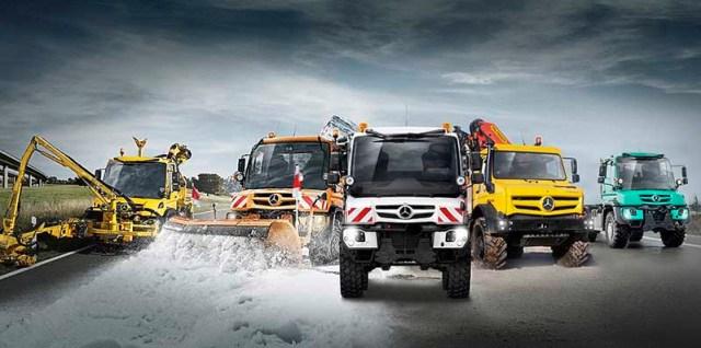Mercedes-Benz celebra los 75 años del Unimog