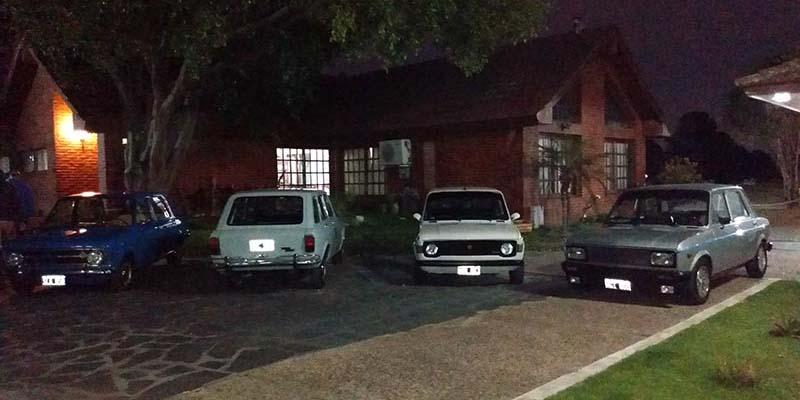 Homenaje por los 50 años del Fiat 128.