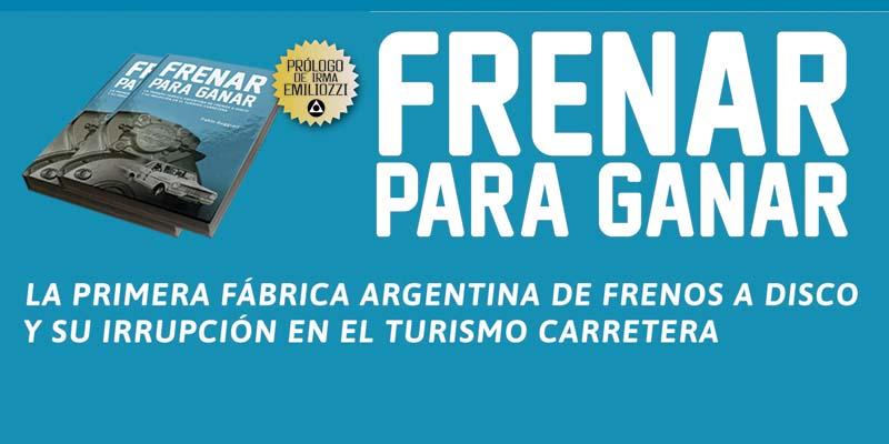 """Nuevo título de Motorlibros: """"Frenar para ganar"""""""