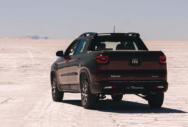 Fiat presentó la nueva Toro