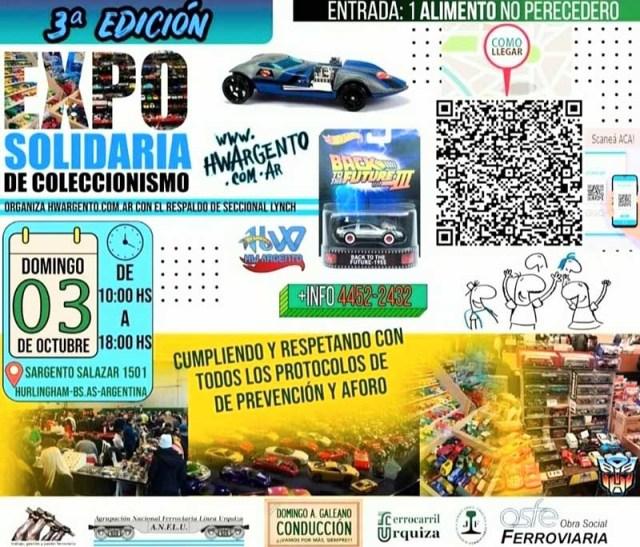 Expo solidaria de coleccionismo