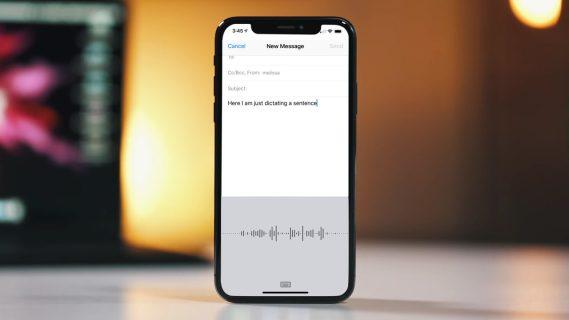 Как диктовать на разных языках на iPhone