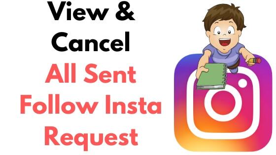 Как отменить отправленные следуют запрос на Instagram iPhone, iPad и Mac / PC в 2020 году – HowToiSolve