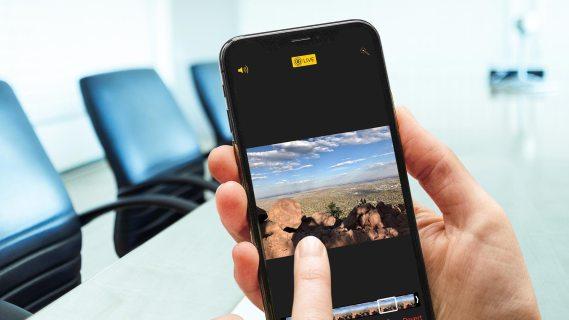 Как преобразовать живое фото в неподвижное изображение с помощью пользовательского ключевого фото [October 2019]