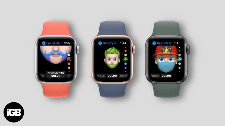Как использовать Memoji на Apple Watch в watchOS 7