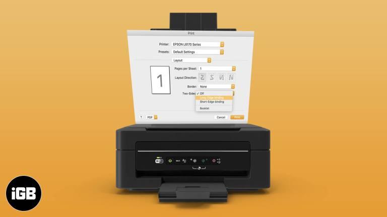 Как двусторонняя печать на Mac (2020)