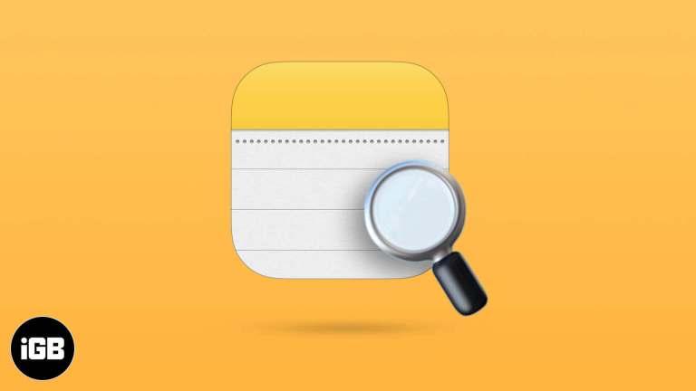 Как искать в приложении Notes на iPhone и iPad