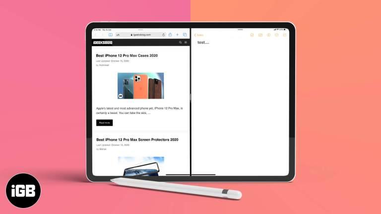 Как работать в многозадачном режиме на iPad: полное руководство [2020]