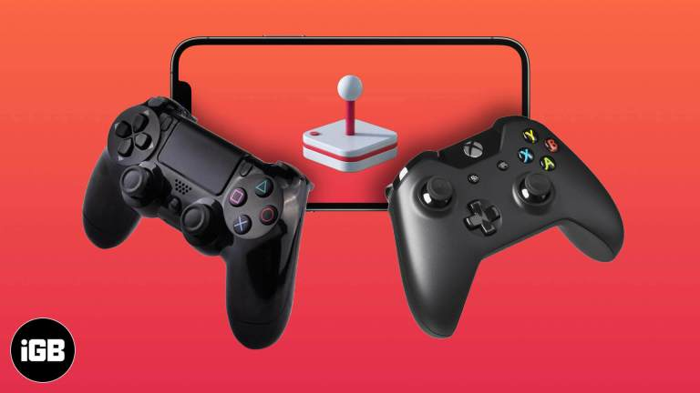 Как подключить контроллер Xbox One или PS5 / PS4 к iPhone и Apple TV
