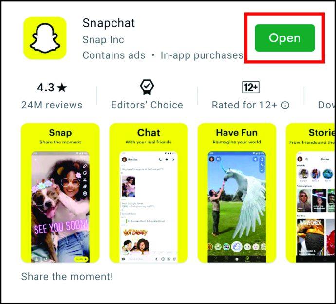 Как изменить камео на Snapchat