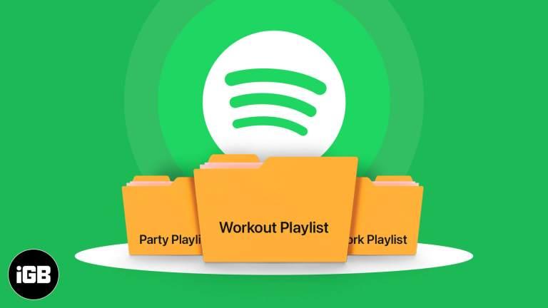 Как создать папки списков воспроизведения на Spotify: эффективное управление списками воспроизведения