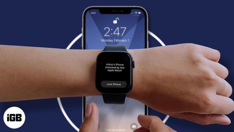 iOS 14.5: как разблокировать iPhone с помощью Apple Watch