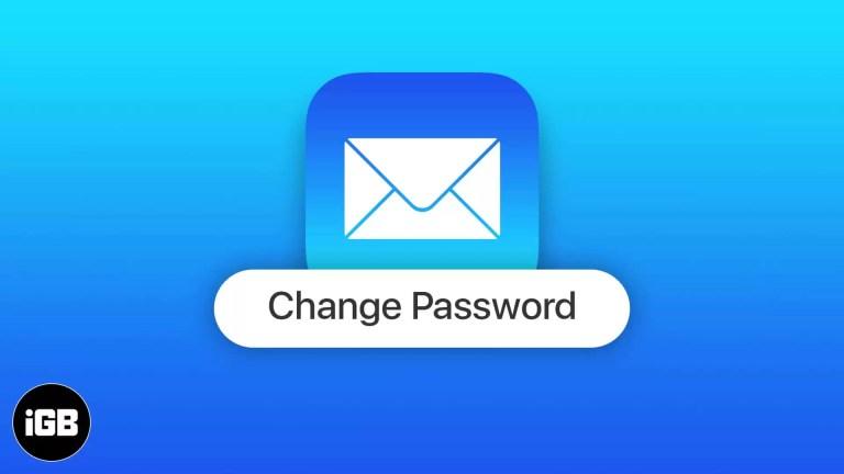 iOS 14: Как изменить пароль электронной почты на iPhone и iPad