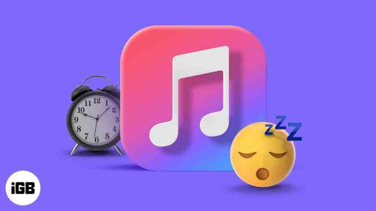 Как установить таймер сна в Apple Music на iPhone, Mac и HomePod