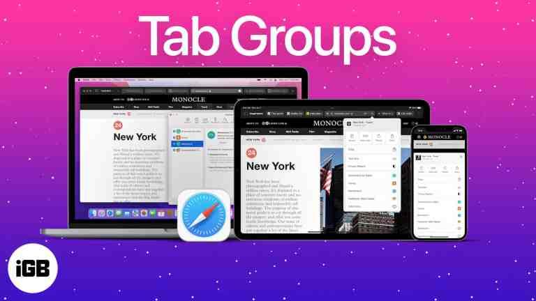 iOS 15: как использовать группы вкладок в Safari на iPhone, iPad и Mac