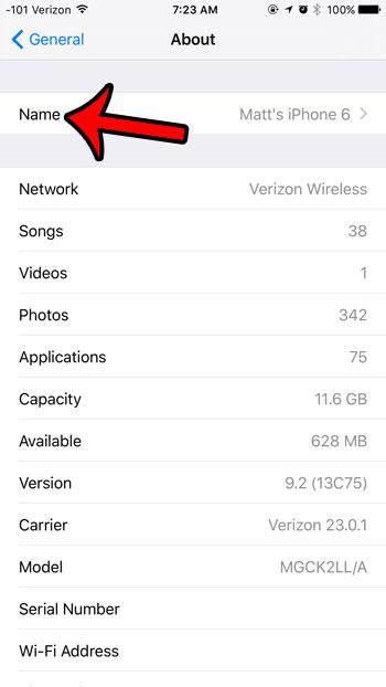 Как изменить имя точки доступа на iPhone