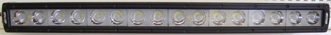 LED Työvalopaneeli kaareva 160W