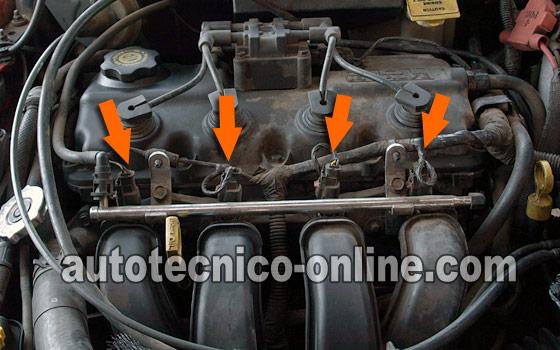 2001 pt cruiser wiring diagram telephone wire parte 1 -cómo probar los inyectores de combustible (chrysler 2.0l, 2.4l)