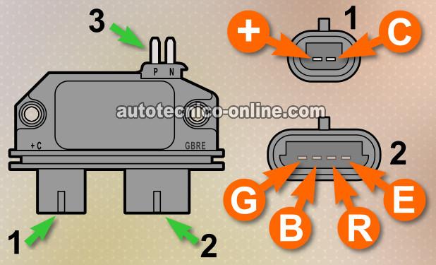 hei distributor wiring diagram chevy 350 kenwood stereo color code parte 1 -cómo probar el sistema de encendido gm 4.3l, 5.0l, 5.7l