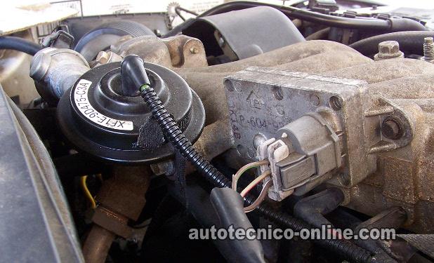 2003 mustang wiring diagram 2001 chevy tahoe parts parte 1 -cómo probar la válvula egr y sensor dpfe (ford).