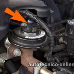 98 Mustang Gt Wiring Diagram Allis Chalmers B Parte 2 -cómo Probar La Válvula Egr Y Sensor Dpfe (ford)