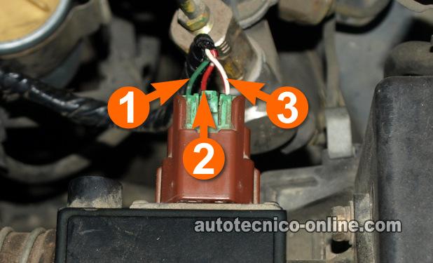 Wire Harness Diagram 97 Maxima Parte 1 Prueba Sensor De Flujo De Aire Maf Nissan