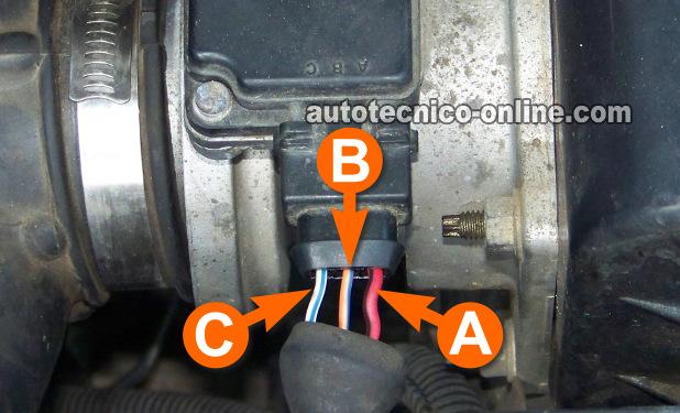 2001 Nissan Maxima Wire Harness Parte 1 Prueba Sensor De Flujo De Aire Maf 3 0l Nissan