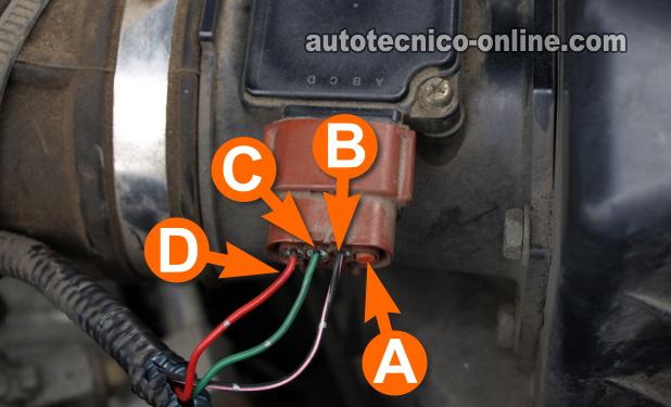 1989 Ford Bronco Ecu Wiring Diagram Parte 2 C 243 Mo Probar El Sensor Maf 3 3l Frontier Quest