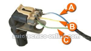 Parte 2 Cómo Verificar el Sensor de la Posición del Cigüeñal (GM 48L, 53L, 60L)