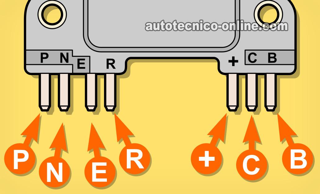 1994 C1500 Wiring Diagram Parte 1 C 243 Mo Probar El M 243 Dulo De Encendio 2 8l V6 Gm