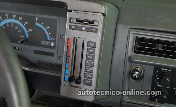 1994 S10 Ac Wiring Diagram Parte 1 C 243 Mo Probar El Interruptor Del Motor Del Soplador