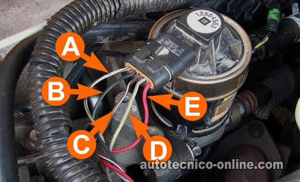 ford edis 4 wiring diagram fender squier strat parte -cómo probar la válvula egr electrónica (3.1l, 3.4l gm)