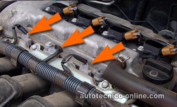 2011 Camry Engine Diagram Parte 1 C 243 Mo Probar Los Inyectores De Combustible 1 8l