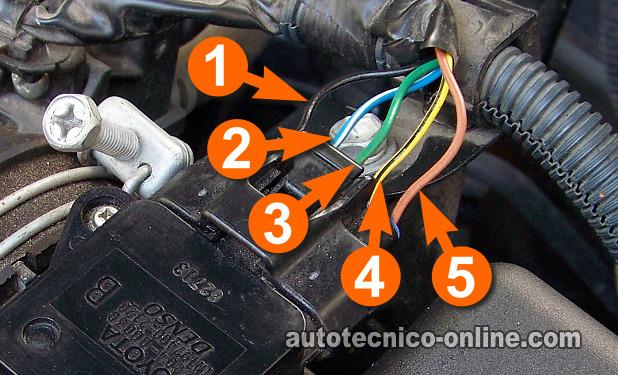 2013 Volkswagen Jetta Engine Diagram Parte 1 C 243 Mo Probar El Sensor Maf 1 8l Toyota Corolla